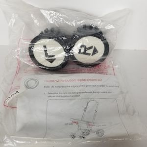 Bugaboo Cameleon round white button replacement